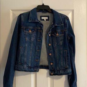 LOFT Vintage Wash Denim Jacket